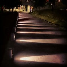 Stair of lights