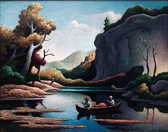 The Ozarks, Thomas Hart Benton American Realism, American Artists, Thomas Hart Benton Paintings, John Stewart, Art Thomas, Grant Wood, Portraits, Abstract Drawings, Basement Ideas