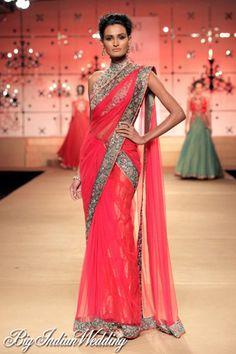 Ashima Leena bridal #saree for #indianwedding