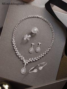 Jewel : Ananta / Issue 152 We Magazine Thailand, December 2016 / Photographer : Warin / Prop Stylist Diamond Necklace Set, Diamond Jewelry, Gold Jewelry, Jewelery, Bridal Jewelry Sets, Wedding Jewelry, Stylish Jewelry, Fashion Jewelry, Bild Girls