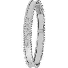 van cleef u0026 arpels perle signature gold medium bracelet kwd liked on