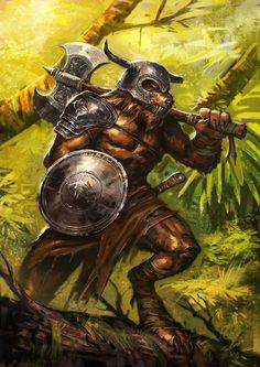 Wolf Warrior   Wolf Warrior by ameeeeba on deviantART
