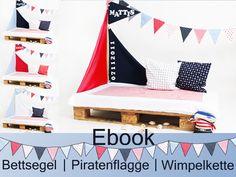 ~~~~~~~Setz' die Segel, kleiner Pirat!~~~~~~~ Vorbei sind die Zeiten der langweiligen Betthimmel. Mit diesem Bettsegel verwandelt sich das Kinderzimmer im handumdrehen in ein Piratenschiff....