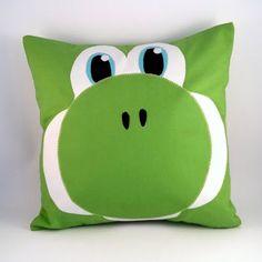 Yoshi - Super Mário - Almofada - decoração