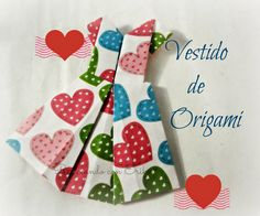 Origami Dress , Vestido de Origami