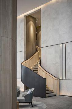 31设计&三亚鸿洲天玺售楼处:贯穿自然的艺术力量 – 一起设计