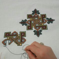 Playing Cards, Hardanger, Embroidery, Cards, Game Cards