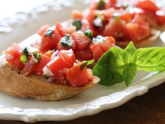 Grilled Tomato Bruschetta | Smart Balance