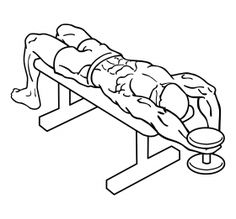 Dumbbell Bent Arm Pullover2