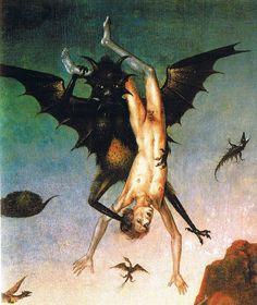 """Infierno"" (detalle). Por Dieric Bouts, 1450. http://iglesiadesatan.com/"