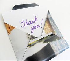 make magazine envelopes