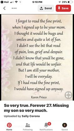 I love you Bella! In Loving Memory Quotes, Son Quotes From Mom, Mother Daughter Quotes, Mother Quotes, Mom Quotes, Hurt By Family, I Miss My Daughter, Grief Poems, Missing My Son
