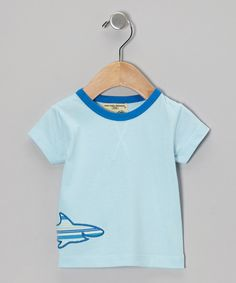 ab07b5cd4 Look at this Sage Creek Organics Light Blue Shark Organic Tee - Infant,  Toddler