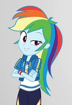 Rainbow Dash, Mlp Pony, Mlp My Little Pony, Equestria Girls, 3d, Awesome, Model, Pictures, Fictional Characters