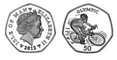 2012 Isle of Man Olympics 50p