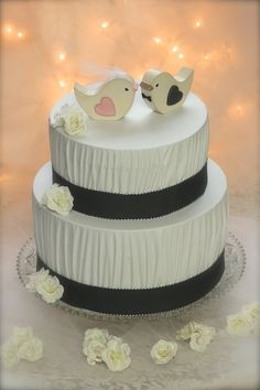 Hey, I found this really awesome Etsy listing at https://www.etsy.com/listing/126086422/wedding-cake-topper-love-birds-rustic