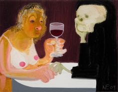 "Nicole Eisenman, ""Death and the Maiden"""