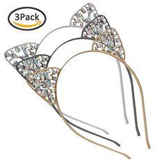 Back To Search Resultsapparel Accessories Sexy Black Cat Ears Headband Para El Cabello Regalos Elegantes Party Holiday Party Hoop Lentejuelas Diadema Accesorios