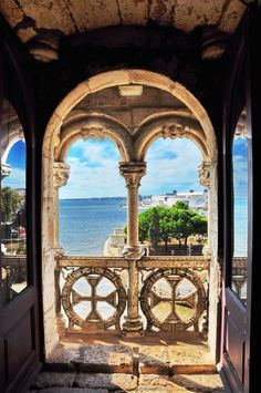 Belem Tower In Lisbon, Portugal- the best vacation ever!! Can I please go back?