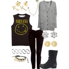 Nirvana fall outfit