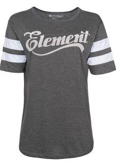 Element Athletic Dept T-Shirt offblack kaufen bei titus.de