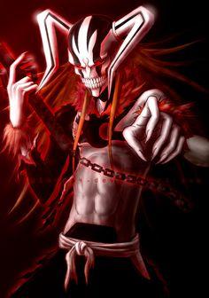 Fan Art of Hollow Ichigo for fans of Hollow Ichigo 20095038 Bleach Ichigo Hollow, Bleach Manga, Ichigo Hollow Mask, Bleach Ichigo Bankai, Bleach Drawing, Bleach Fanart, Shinigami, Gogeta Ss4, Kenpachi Zaraki