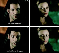 lucifer and chloe --- 1x06: Favorite Son