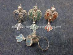 Afghan Tribal Bird Rings, View Kuchi rings, Nooristan Art Gallery Product Details from NOORISTAN ART GALLERY on Alibaba.com Spicy Candy, Art Gallery, Drop Earrings, Bird, Jewelry, Art Museum, Jewlery, Jewerly, Birds