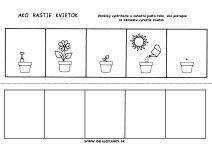 Pracovný list - od semienka k rastlinke Educational Activities, Kindergarten, Crafts For Kids, Preschool, Jar, Science, Image, Cute Ideas, Tactile Activities