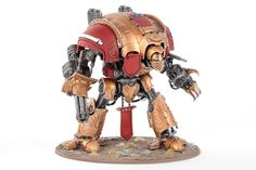 Showcase: Custodes themed Imperial Knight by ComradeQuiche - Tale of Painters