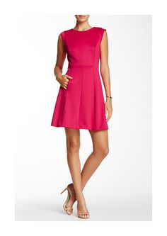 Vince Camuto Seamed Fit & Flare Dress - was $128.0, now $54.97 (57% Off) @ Nordstrom Rack