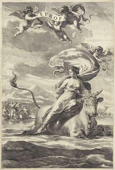 Roof van Europa, Jan de Visscher, 1643 - 1692