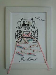 Hochzeitsgeschenk Geld - money present for a wedding