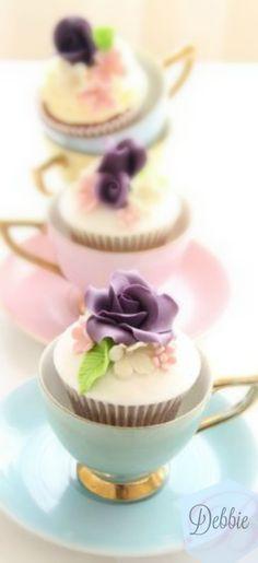 Pastel Tea ~ Debbie  ❤