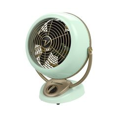 Williams-Sonoma Vornado Alchemy Vintage Fan ($250) ❤ liked on Polyvore featuring home, home decor, fans and standing fans