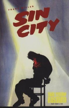 The cover to Sin City: That Yellow Bastard #3 (1996), art by Frank Miller & Lynn Varley