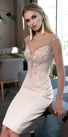 Wedding Dresses Ball Gown, Stunning Satin Jewel Neckline Knee-length Sheath/Column Cocktail Dress With Lace Appliques MagBridal Homecoming Dresses, Wedding Dresses, Graduation Dresses, Party Dresses, Ribbed Knit Dress, Knot Dress, Black Cocktail Dress, Cocktail Dresses, Tube Dress