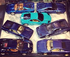 Inspired by @rarecarcollector. My 💙of blue Ferrari's in 1/18 Scale! #ferrari #blueferrari #ferrarigto #ferrari360 #ferrari308 #ferrari512tr #ferrari348 #ferrarichallenge #diecastcar #diecast #118 #118scale #blue #love #happy #cheers #bburago #hotwheels #mira
