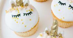 HOW TO MAKE FONDANT UNICORN CUPCAKES | Unicorn cupcakes, Unicorns and Fondant