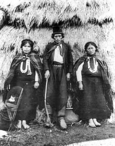 Mapuches Año 1890
