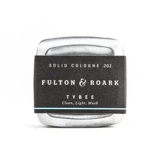 Tybee Solid Cologne | Huckberry