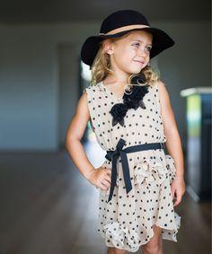 Look at this #zulilyfind! Black Wool Floppy Hat #zulilyfinds