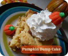Pumpkin Dump Cake (a.k.a. Pumpkin Crack Cake) recipe from The Better Baker