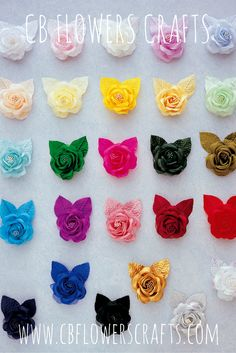 Shop for wholesale floral craft supplies online. CB Flowers and Crafts carries silk single roses in 32 vibrant colors. Wholesale Crafts, Wholesale Craft Supplies, Craft Supplies Online, Arts And Crafts Supplies, All The Colors, Vibrant Colors, Party Suppliers, Single Rose, Business Planner