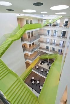 Vitus Bering Innovation Park-C. F. Møller-plusMOOD 24. http://www.worldarchitectslibrary.com/
