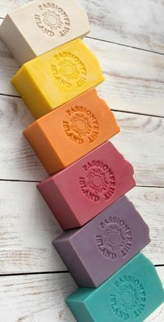 Soaps of all colors Clean cut soap. Natural skincare with colorful soap choices. Soaps of all colors Clean cut soap. Natural skincare with colorful soap choices. Diy Lush, Soap Colorants, Glycerin Soap, Savon Soap, Honey Soap, Homemade Soap Recipes, Homemade Cards, Goat Milk Soap, Handmade Soaps