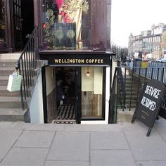 Wellington Coffee, found on George Street, is a great place to stop for a much needed shopping break. If you want a coffee and a scone in the city centre but want to avoid the numerous Starbucks and Costas then this is the place to go! London Coffee Shop, Coffee Shops, Great Places, Places To Go, Edinburgh City Centre, Morning Has Broken, Uk Holidays, Summer Rain, My Heritage