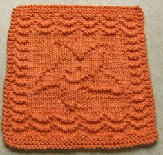 Down Cloverlaine: Baby Starfish Cloth