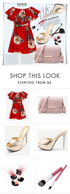 """""""ROMWE 4"""" by melissa995 ❤ liked on Polyvore featuring Smashbox"""