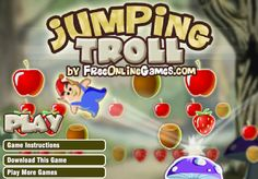 Jumping Troll: One of the most adventurous #games you will ever come across  #Adventuregame #flashgame